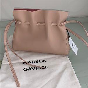 MANSUE GAVRIEL MINI SOFT BAG WITH DRAWSTRING
